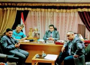 """تعليم """"جنوب سيناء"""" و""""تمويل المشروعات"""" يبحثان تطبيق القرارات الوزارية"""