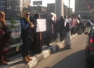 بالصور| وقفة لأهالي الشرقية للمطالبة بعودة المحافظ السابق