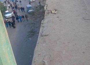 مصرع سيدة إثر سقوط جزء من سور كوبري عرابي بشبرا الخيمة عليها