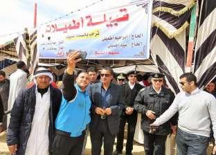 """وفود مهرجان """"الهجن الدولي"""" يشكرون """"أمن الإسماعيلية"""" على جهود التأمين"""