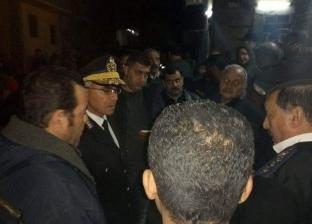 مصرع طفلة وإصابة سيدة إثر انهيار عقار في الإسكندرية