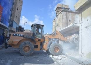تنفيذ 25 قرار إزالة تعديات على أملاك الدولة بكفر الشيخ