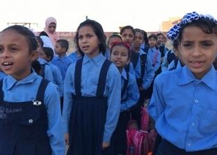 """رئيس """"بئر العبد"""" يتفقد المدارس ويتابع سير العملية التعليمية"""