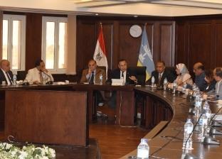 """محافظ الإسكندرية يجتمع بالنواب لمناقشة قضايا """"الثغر"""": مستعدون للسيول"""