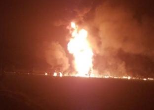 النيابة تنتدب المعمل الجنائي لفحص حريق مصنع مراتب بالقناطر