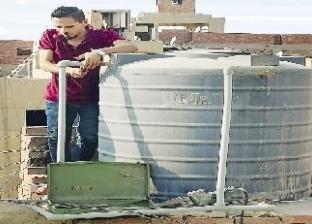 انقطاع المياه المتكرر ينعش سوق الخزانات فى الهرم