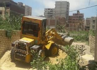 حملة للتصدي لظاهرة البناء المخالف بحي منتزه ثان في الإسكندرية