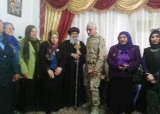 """قائد الجيش الثاني الميداني يقدم التهنئة للأقباط بمناسبة عيد """"القيامة"""""""