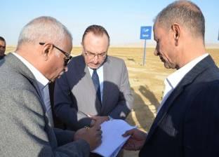 محافظ بني سويف يناقش الحلول النهائية لحل مشكلة الصرف الصناعي ببياض