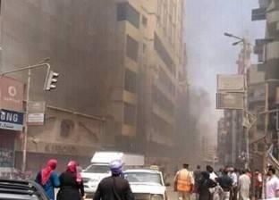 حي وسط القاهرة: جار إزالة آثار حريق الموسكي.. ولجنة ثلاثية للمعاينة