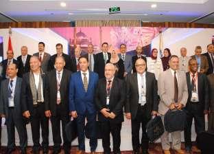 """افتتاح مؤتمر """"توجهات تطوير التعليم الصيدلي"""" بجامعة عين شمس"""