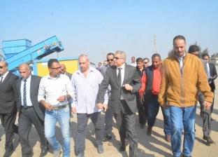 """محافظ المنيا خلال افتتاح مصنع تدوير المخلفات: """"نهضة تنموية"""""""