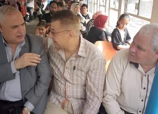بالصور| رئيس هيئة النقل العام يتفقد مرسى الأتوبيس النهري قبل شم النسيم