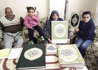 الحياة تبدأ بعد المعاش: زوج يستكمل دراسته.. وزوجته تكتب القرآن