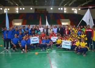 افتتاح دوري خماسي كرة القدم للصم في الوادي الجديد بمشاركة 3 محافظات