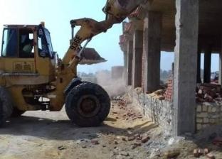 تنفيذ 221 إزالة إدارية وتحرير 15 محضر مخالفات ببني مزار