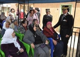 """""""أمن القاهرة"""" يزور دور رعاية المسنات بمناسبة يوم المرأة وعيد الأم"""