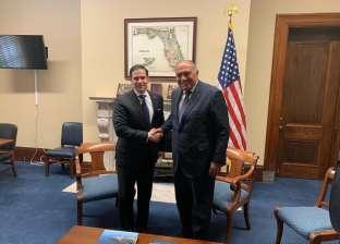 سامح شكري يلتقي سيناتور أمريكيا لبحث سبل مواجهة الدول الداعمة للإرهاب