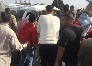 عاجل| 7 مصابين في تصادم مروع بين 3 سيارات على الطريق الدولي الجديد