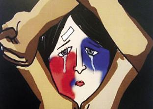 نضال المرأة فى 100 لوحة: عنف وتحرُّش وزواج مبكر