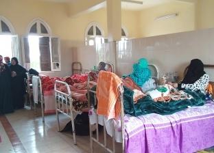 محافظ الشرقية يتابع الحالة الصحية لطالبات مدرسة الصالحية