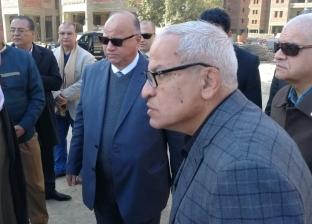 محافظ القاهرة يتفقد مشروع إسكان أرض الخيالة وإزالات مجرى العيون