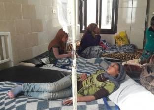 خروج 13 حالة تسمم من مستشفى مطروح العام تماثلوا للشفاء