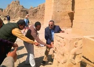انتهاء أعمال إنشاء المتحف المفتوح بمعبد دندرة