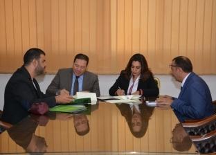 محافظ دمياط توقع بروتوكول تعاون مع جمعية الأورمان