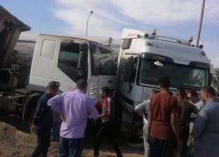 إصابة 6 أشخاص في حادثين منفصلين على طريق الأدبية بالسويس