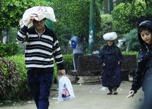 """""""التنبؤ بالفيضان"""" ينشر خرائط سقوط الأمطار في أول أيام العام الجديد"""