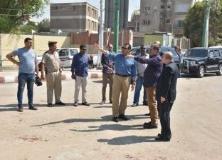 محافظ أسيوط يتفقد إزالة الإشغالات بشوارع مركز الفتح