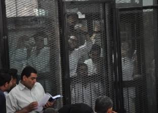 """دفاع المتهمين بـ""""اقتحام قسم حلوان"""": أمر الإحالة يشتمل على جرائم لم تقع"""