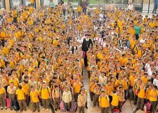 """""""بفنوتيوس"""" يتفقد مجمع مدارس العهد الجديد بسمالوط"""