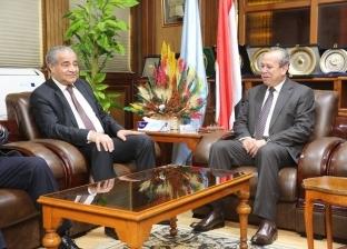 محافظ كفر الشيخ يستقبل وزير التموين لافتتاح أعمال تطوير مصنع الدلتا