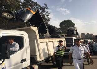"""""""أمن القاهرة"""" يشن حملة مكبرة لإزالة الإشغالات بالسيدة عائشة ومدينة نصر"""