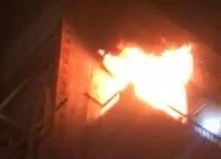 """""""الحماية المدنية"""" تسيطر على حريق شب في شقة بمركز أجا"""