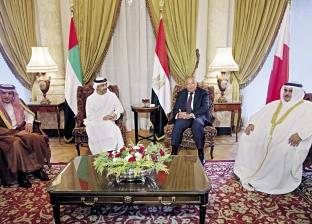 """""""الرباعي العربي"""" يتمسك بمطالبه تجاه قطر"""