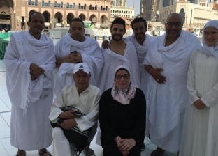 """صور.. مها أبو عوف وأبطال """"3 أيام في الساحل"""" يؤدون مناسك العمرة"""