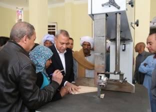 محافظ قنا يتفقد أعمال التشطيبات النهائية لتطوير قصر الثقافة