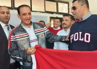 بالفيديو  طارق علام يدلي بصوته في الاستفتاء على تعديلات الدستور