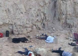 مقتل 11 إرهابيا في اشتباكات مع قوات الأمن بأسيوط
