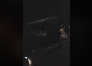 أول فيديو من حادث الطريق الدائري.. أدى لمصرع 5 وإصابة 16 آخرين