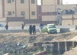 بالصور| رعب بمحيط محطة كهرباء بنها بسبب سيارة وعلبة مناديل