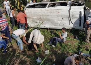 إصابة 4 في تصادم سيارتين على الطريق الدولي الساحلي بالبحيرة