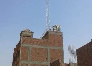 """إيقاف إنشاء شبكة للاتصالات بـ""""كفر عبيان"""" في أبوزعبل"""