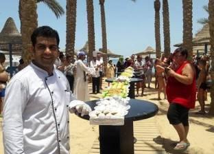 """أحد فنادق الغردقة ينظم مهرجانا لـ""""كعك العيد"""""""