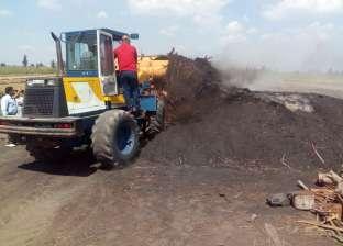 """""""شؤون البيئة"""": تفتيش 145 مصنعا ومكمورة فحم في كفر الشيخ"""