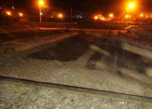 عاجل| حادث تصادم بين قطار وتوك توك بالعياط دون وقوع ضحايا