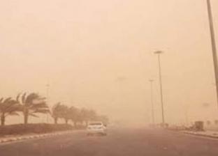 """""""الأرصاد الجوية"""" تنذر البحر الأحمر بعاصفة ترابية لمدة 24 ساعة"""